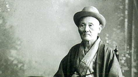 Toshiro Kubota, Gonshiro's adoptive father at around 77 years old