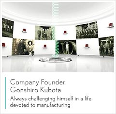 188bet.com服务中心Company Founder Gonshiro Kubota